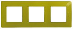 Рамка 3П зел папоротник ETIKA /672543/