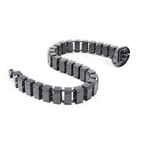 Вертикальный кабель-канал Змейка