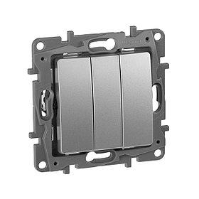 Выключатель трехкл.10АХ авт алм. ETIKA /672413/