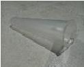 Конус пластик узкий навесной органайзер