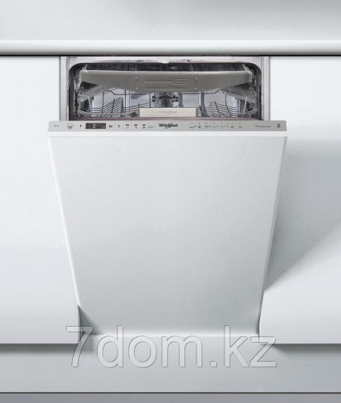 Встраиваемая посудомойка 45 см Whirlpool WSIO 3O23 PFE X