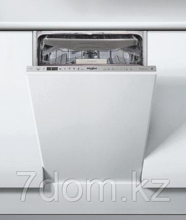 Встраиваемая посудомойка 45 см Whirlpool WSIO 3O23 PFE X, фото 2