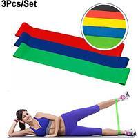 Фитнес резинки (3 фитнес ленты разного сопротивления)