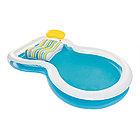 Семейный надувной бассейн BESTWAY Staycation 2+ 54168 (279х234х48 см, Винил, 340л)