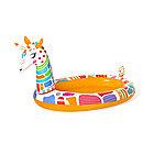 Детский надувной бассейн BESTWAY Groovy Giraffe 53089  (266x157x127см, Винил, 220 л)