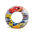 Круг для плавания INTEX Disney Cars 3+ 58260NP (Тачки, 51см, Винил)