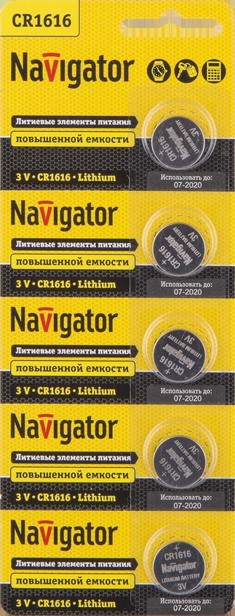 Элемент питания NBT-CR1616-BP5 94 779 Navigator
