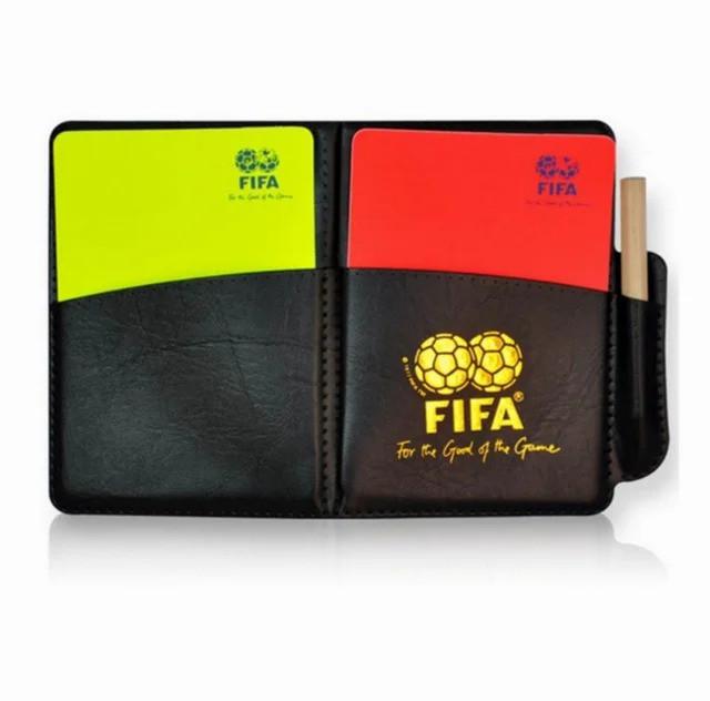 Судейские карточки для футбола FIFA