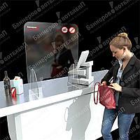 Защитные экраны для кассиров