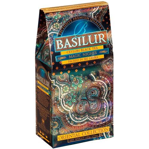 Чай чёрный рассыпной Восточная коллекция Магия ночи Magic Nights, 100гр Basilur