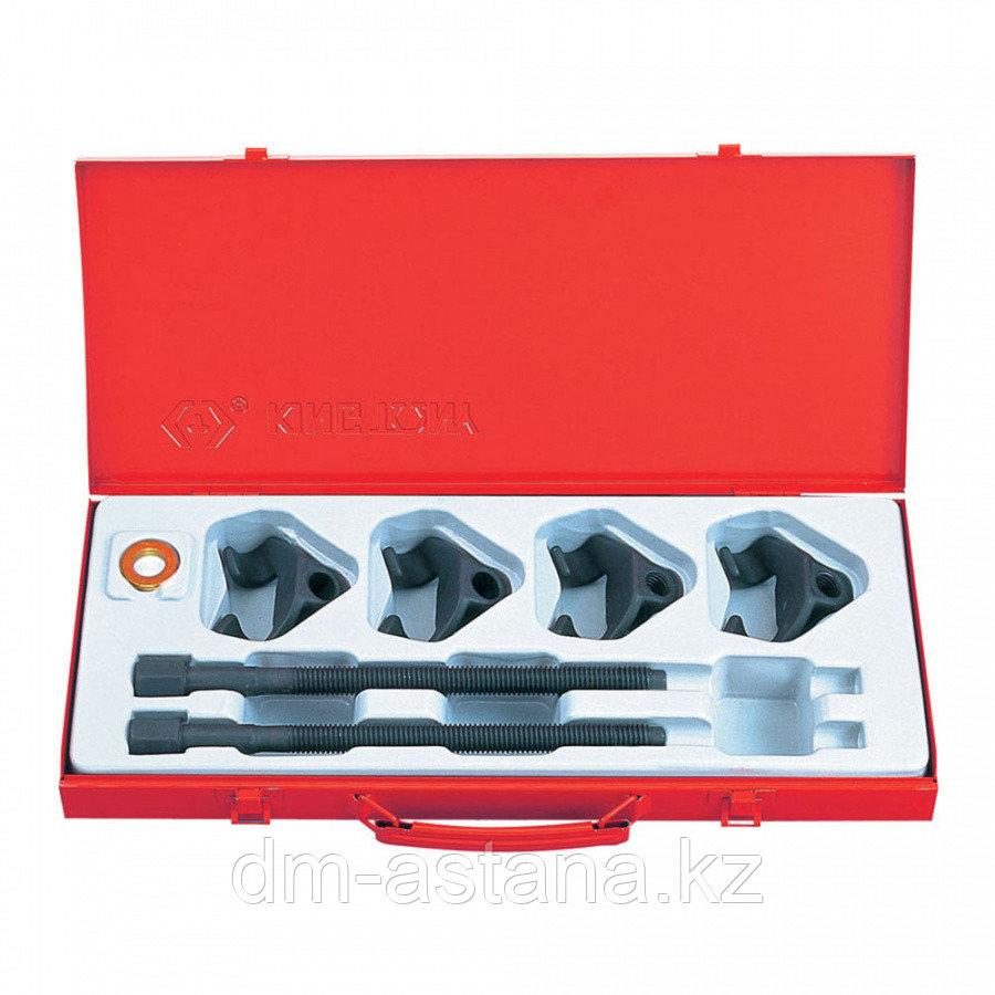 KING TONY Набор для стяжки пружин амортизатора, 85-270 мм, кованые крюки, 6 предметов KING TONY 9BF21