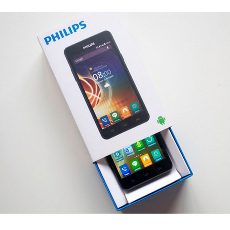 """Смартфон 5"""" Philips V526 LTE синий"""