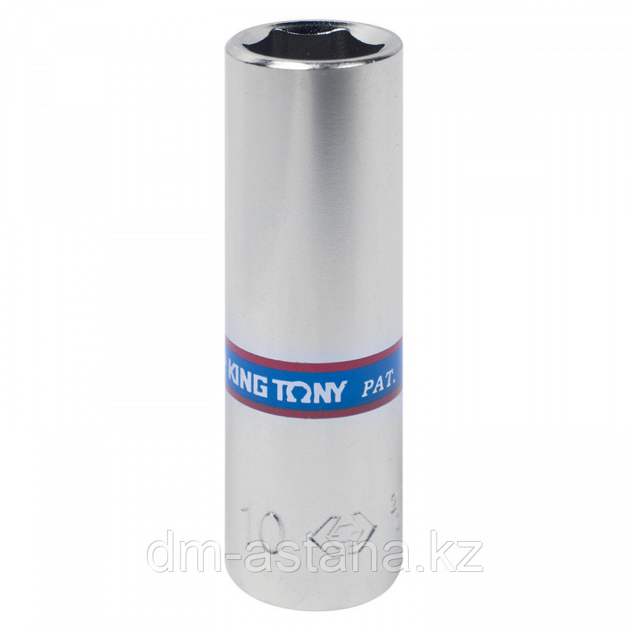 """Удлинитель 1/4"""", 100 мм, 15 градусов, с шаровым окончанием KING TONY 2293-04"""