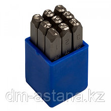 KING TONY Набор ударных клейм 5 мм, цифры, 9 предметов KING TONY 11409SQ05
