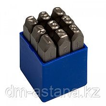 KING TONY Набор ударных клейм 8 мм, цифры, 9 предметов KING TONY 11409SQ08