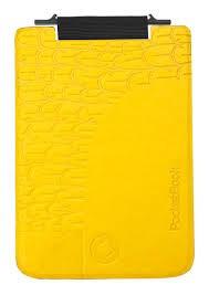 Обложка PocketBook 515 Mini bird flip flop black yellow PBPUC-5-BCYL-BD