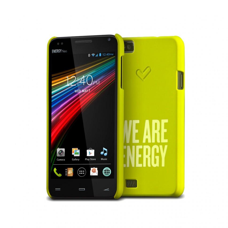 Чехол для ENERGY PHONE NEO Energy Sistem, Energy Phone Case Neo Green, цвет: зеленый