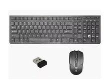 Комплект Клавиатура + Мышь Defender Columbia C-775 RU,черный,мультимедиа
