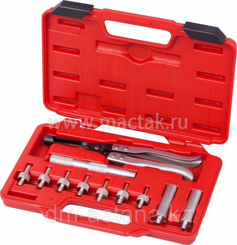 МАСТАК Набор для маслосъемных колпачков и направляющих, 10,8-14,8 мм, кейс, 11 предметов МАСТАК 103-14001C