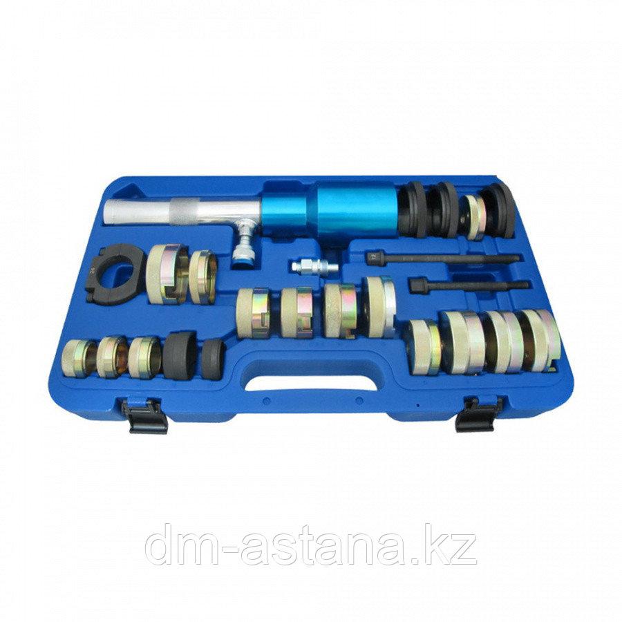 МАСТАК Набор оправок для монтажа и демонтажа сайлентблоков MB, гидравлический, кейс, 24 предмета МАСТАК 110-22024C