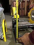 SKAT 63-160мм с 2мя держателями механический сварочный аппарат для стыковой пайки полиэтиленовых труб, фото 2