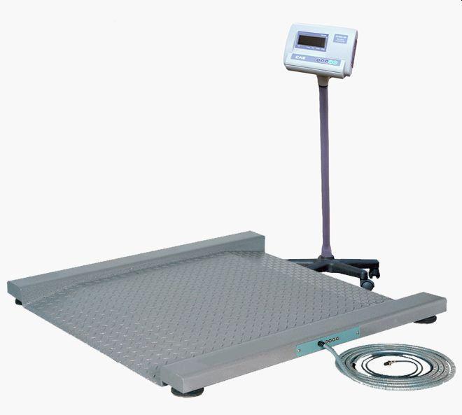 Весы платформенные электронные CAS Геркулес Т 0.3