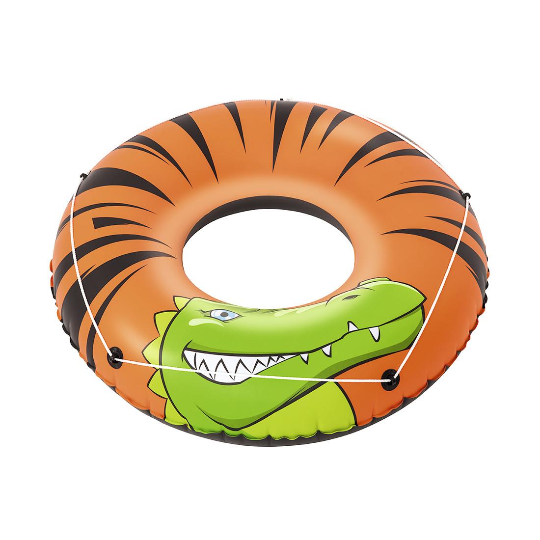 Круг для плавания BESTWAY River Gator 12+ 36108 (119 см, Винил, Двухкамерный)