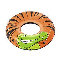 Круг для плавания BESTWAY River Gator 12+ 36108 (119 см, Винил, Двухкамерный), фото 1