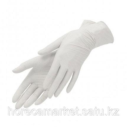Перчатки виниловые без пудры XL (100 шт), фото 2