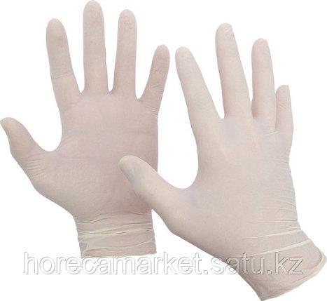 Перчатки латекс неопудренные, размер - M (100 шт), фото 2