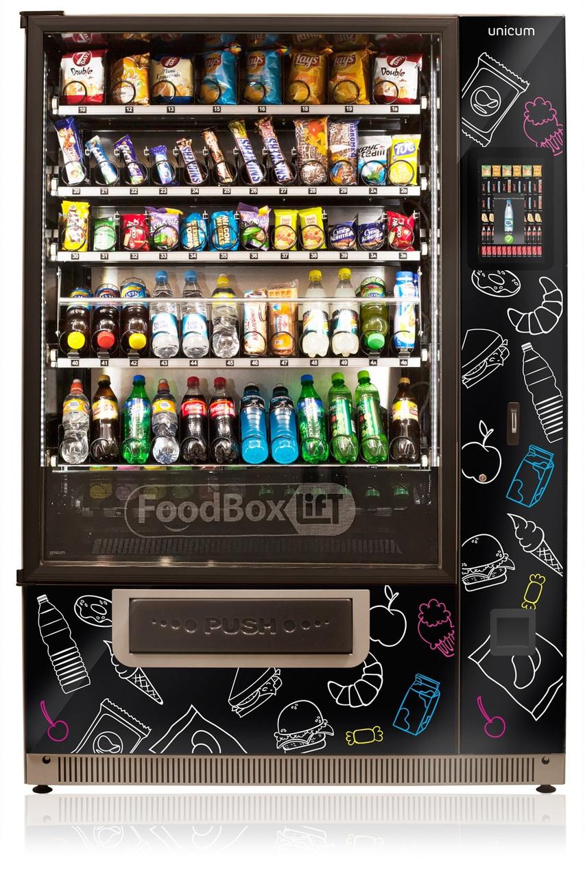 Торговый автомат FoodBox Long Lift Touch