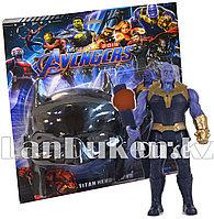 Набор детская маска и фигурка Танос 16.5 см серия Мстители