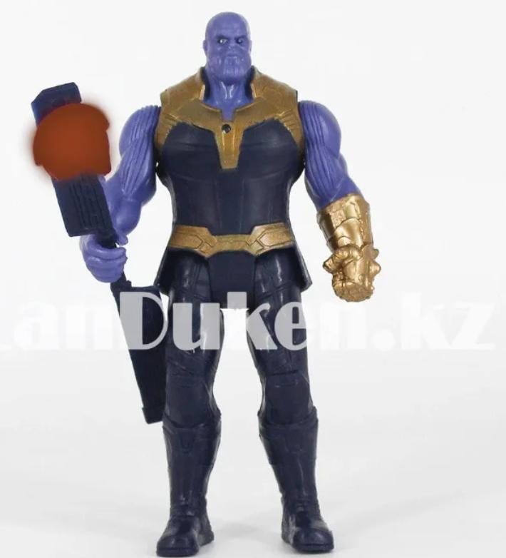Набор детская маска и фигурка Танос 16.5 см серия Мстители - фото 7