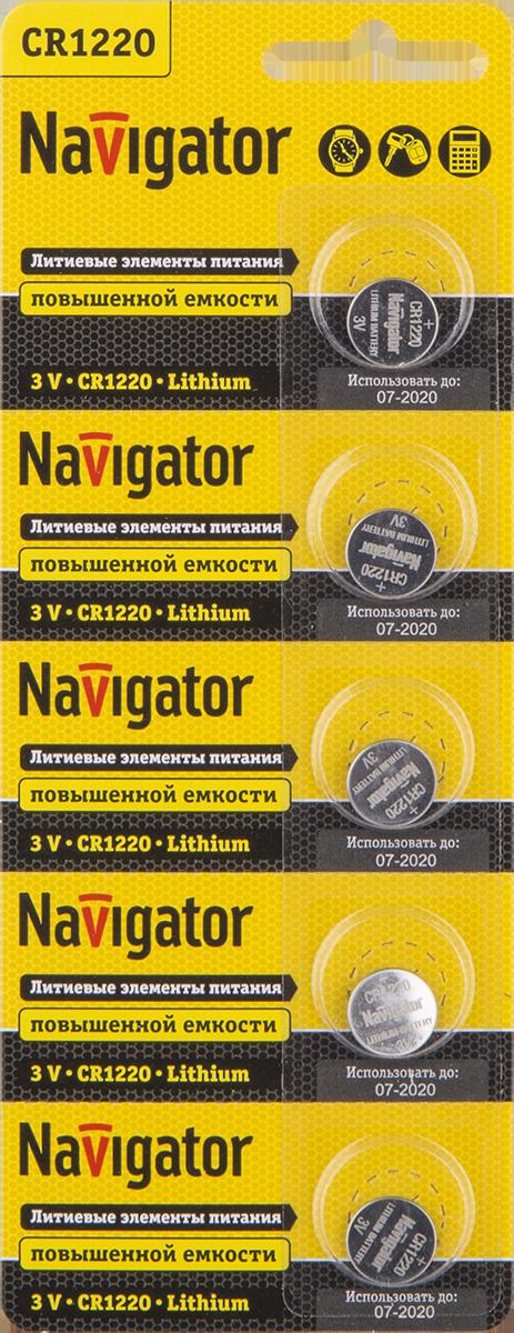 Элемент питания NBT-CR1220-BP5 94 778 Navigator