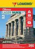 Бумага А4 для цветной лазерной печати Lomond 200g глянцевая