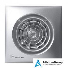 Вытяжка для ванной диаметр 100 мм Soler & Palau SILENT-100 CZ Silver 12V