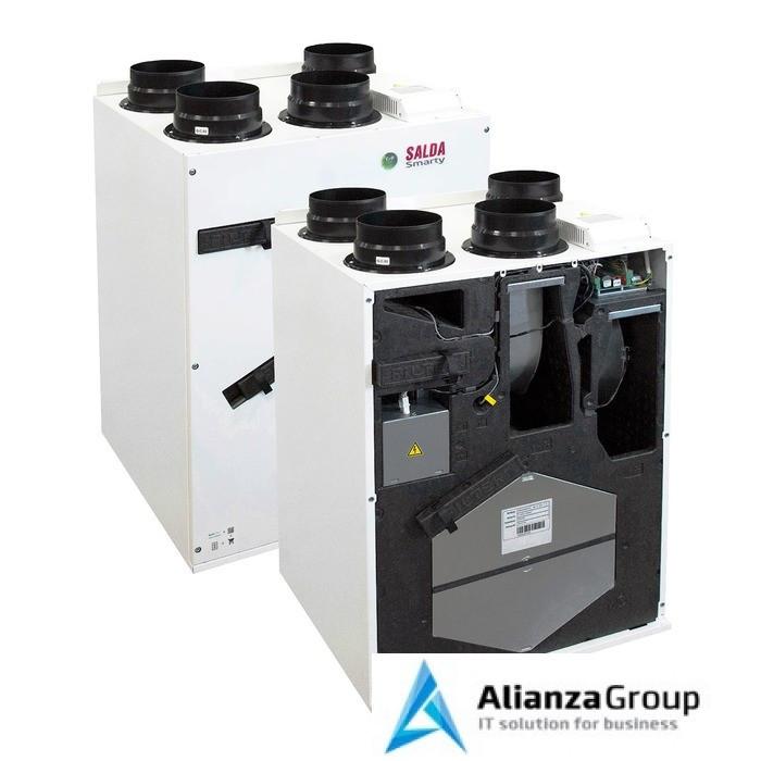 Приточно-вытяжная вентиляционная установка 500 Salda Smarty 4X V 1.1