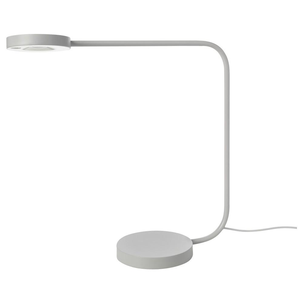 ЮППЕРЛИГ Настольная лампа, светодиодная, светло-серый, светло-серый - фото 3