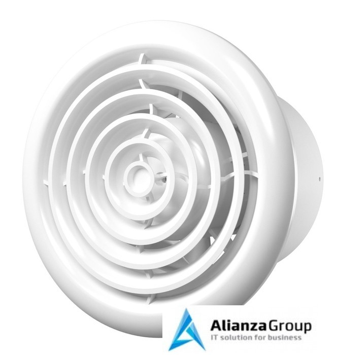 Вытяжка для ванной диаметр 100 мм ERA FLOW 4 C BB