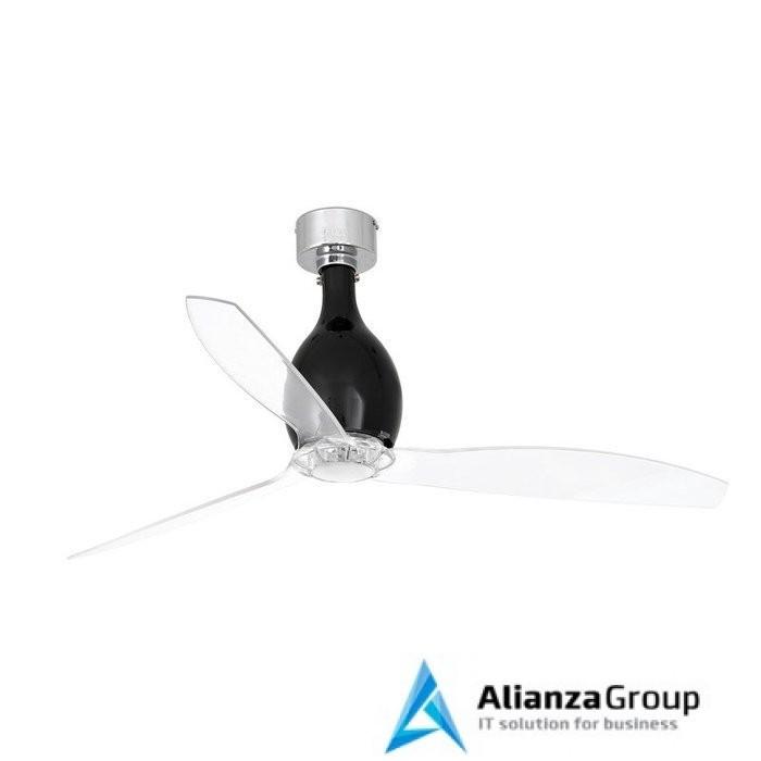 Вентилятор без подсветки Faro Mini Eterfan Shiny Black