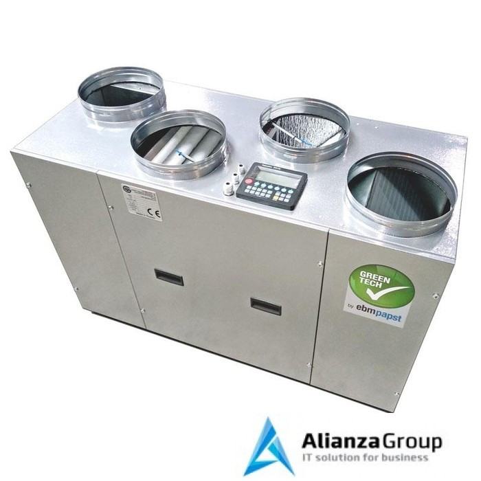 Приточно-вытяжная вентиляционная установка Globalvent CLIMATE Vi-038 E с электронагревателем