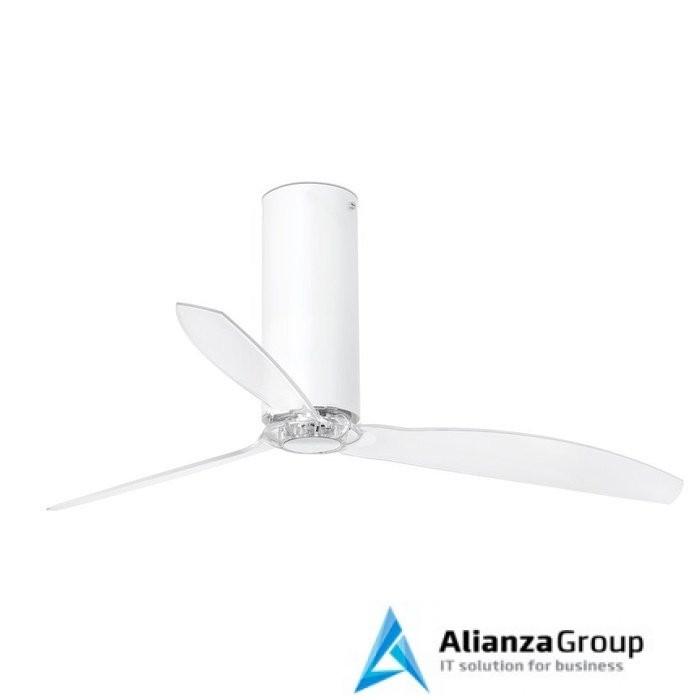 Вентилятор без подсветки Faro Tube Fan Matt White