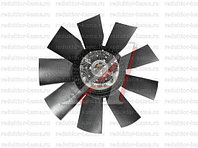 Гидромуфта с вентилятором