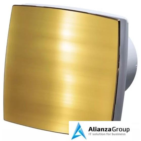 Вытяжка для ванной диаметр 100 мм Vents 100 ЛДА Голд