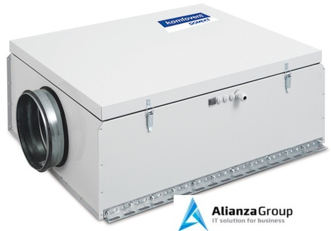 Приточная вентиляционная установка Komfovent Domekt-S-1000-F-W (M5 ePM10 50)