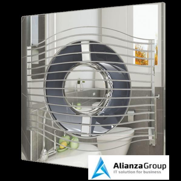 Вытяжка для ванной диаметр 100 мм ERA SLIM 4C Chrome