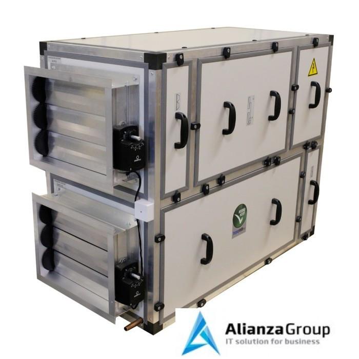 Приточно-вытяжная вентиляционная установка MIRAVENT ПВВУ GR EC – 1350 W (с водяным калорифером)