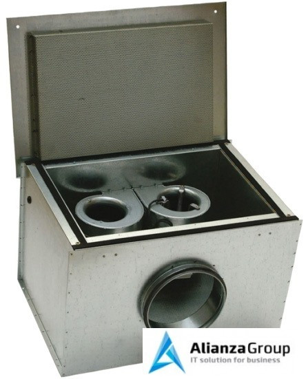 Канальный вентилятор Systemair KVK DUO 200 Circular duct fan