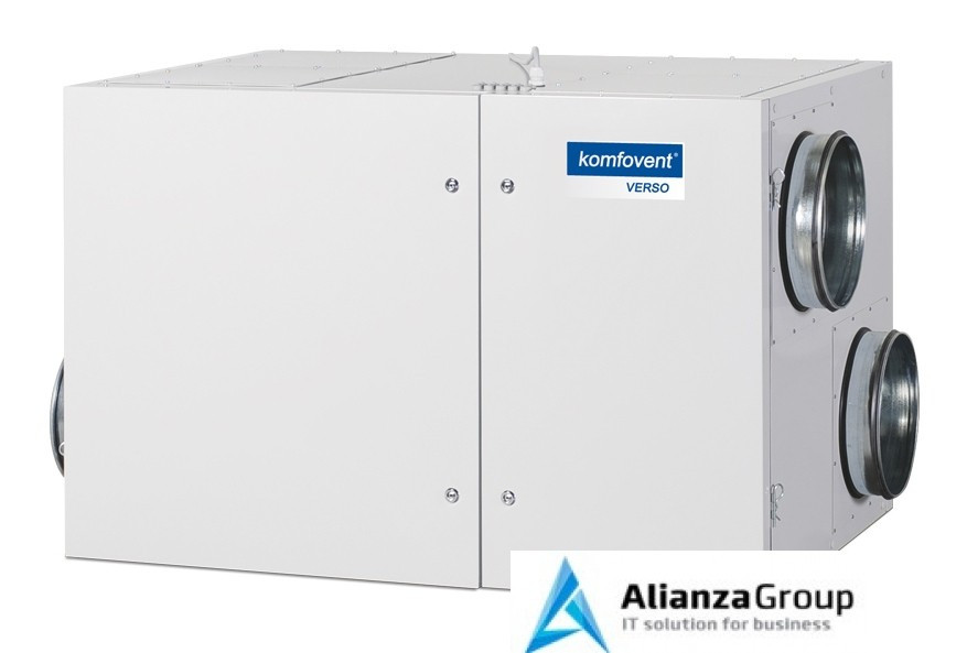 Приточно-вытяжная вентиляционная установка Komfovent Verso-R-1300-H-W (SL/A)