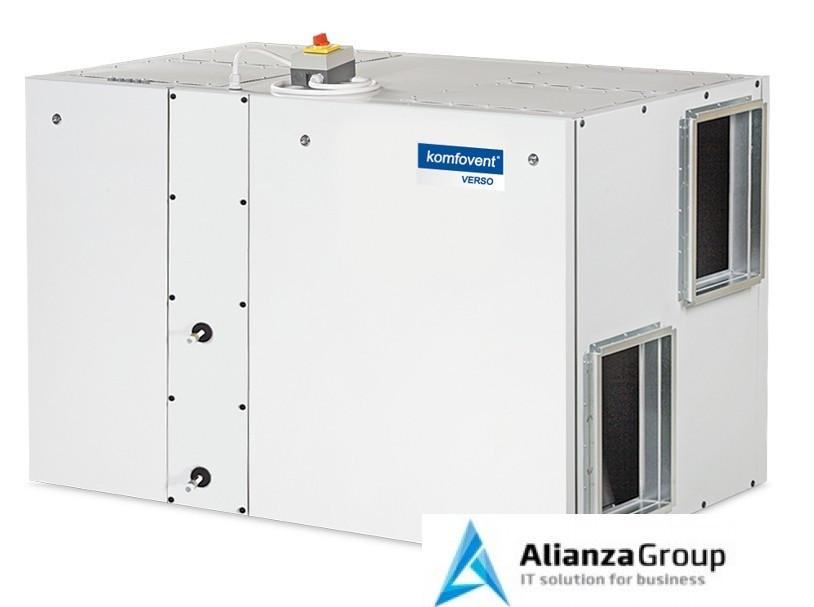 Приточно-вытяжная вентиляционная установка Komfovent Verso-R-1700-H-E (SL/A)